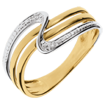present Yellow Gold Silence Ring