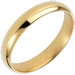 present Yellow Gold Waltz Wedding Ring