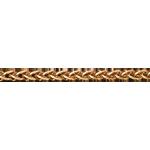 kaufen Zopfkette Gelbgold 42 cm