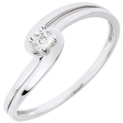 Bague Solitaire Silly