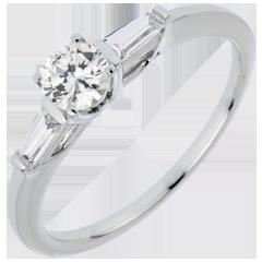 Bague Solitaire Mon Ange - diamant 0.35 carat