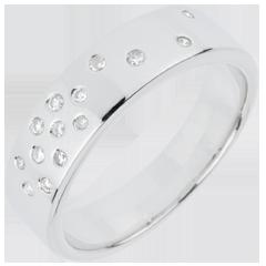 Alliance Nuit Étoilée - or blanc 18 carats
