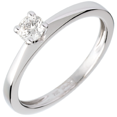 Solitaire Poesia - 0.26 carats