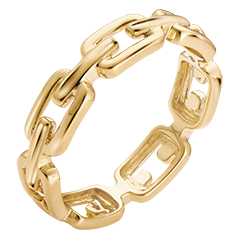 Inel Privire din Orient – Zale Cubaneze mediu – aur galben de 9 carate