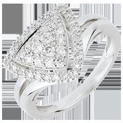 Anello Navetta diamanti