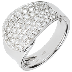 Bague Langue de Diamants