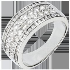 Anello Costellazione - Cosmo - 62 diamanti