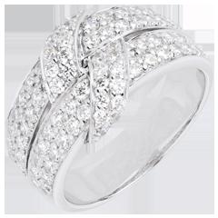 Anillo enlace supremo diamantes