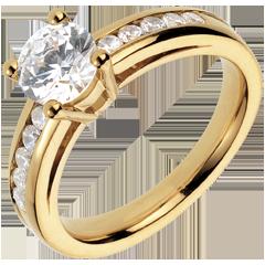 Bague sur mesure 30073 - solitaire diamant 1 carat