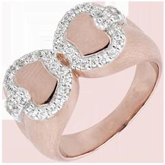 Anello Freschezza - Mela dell'amore - Oro rosa