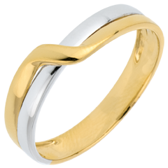 Two Golds Eden Passion Wedding Ring