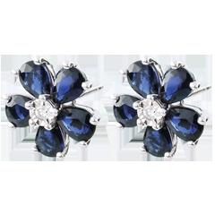 Maria Flora Sapphire Earrings