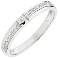 Wedding Ring with Diamonds Thousand of Wonders