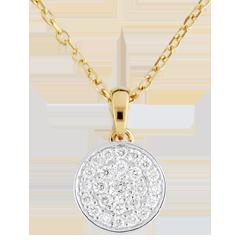 Collier Ma Constellation bicolore - 0.163 carat