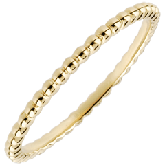 Ring Salty Flower - yellow gold - 9 carat