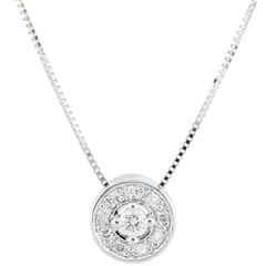 Collier diamant Ludmila