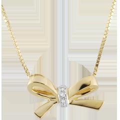 Collar Nudo Carlota - oro amarillo 9 quilates
