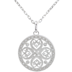 Ciondiolo Tahia - 37 diamanti