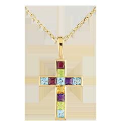Colour Cross Pendant
