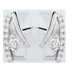 Boucles d'oreilles diamants Erina