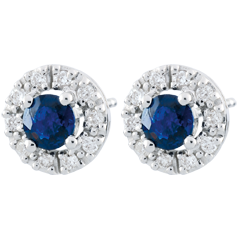 Clévia Sapphire Earrings