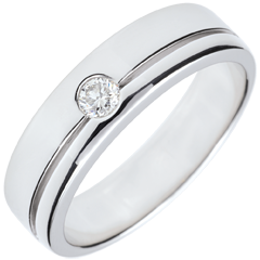 Alliance Olympia Diamant - Grand modèle - or blanc