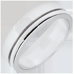 Alliance Olympia - Grand modèle - or blanc