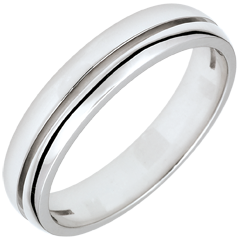 Alliance Olympia - Petit modèle - or blanc