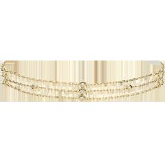 Yellow Gold Gratitude Bracelet - 18 carats
