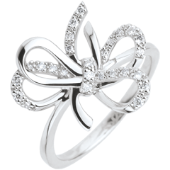 خاتم فولي ـ الفضة والألماس