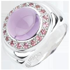 خاتم أورتونس ـ الفضة والأحجار الكريمة