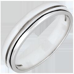Alliance Olympia - Petit modèle - or blanc 9 carats