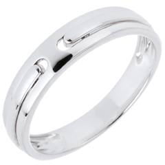 Alliance Promesse - tout or - or blanc 18 carats
