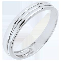 Alliance Triya or blanc 18 carats