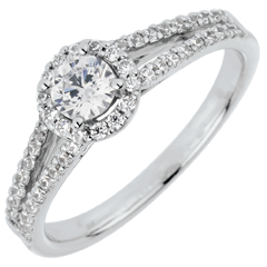 Anello di fidanzamento Destino - Giuseppina - diamante 0.3 carati