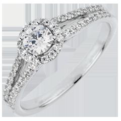 Anillo de compromiso Destino - Josefina - diamante 0.3 quilates