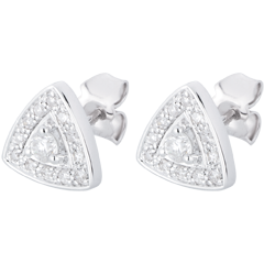 AP1510 - White Gold and Diamond Premier Earrings