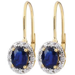 Apolline Sapphire Earrings