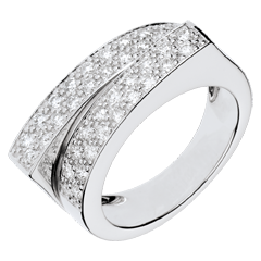 Bague Féérie - Double destin - 0.68 carat de diamants