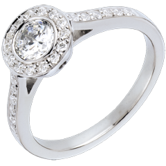 Bague sur mesure 30255 - diamant solitaire 0.5 carat