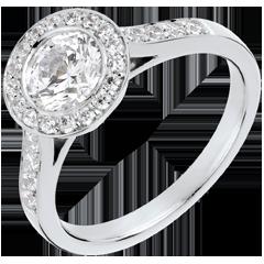 Bague sur mesure 30257 - diamant solitaire 1 carat
