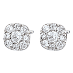 Boucles d'oreilles diamants Lavia