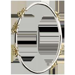 Bracelet Balade Imaginaire - Le Bal des Fourmis - or blanc et or jaune