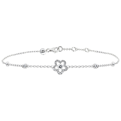 Bracelet Freshness - Anemone- white gold 18 carats and diamonds