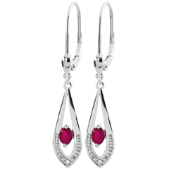 Britanie Ruby Earrings