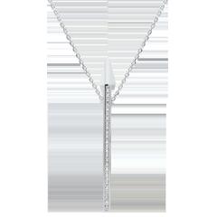 Collana Costellazione - Astrale - Oro bianco e Diamanti - 18 carati