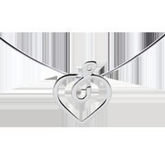 Collana Diapple - oro bianco 9 carati