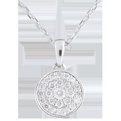 Collar Mil Maravillas oro blanco - 0,163 quilates