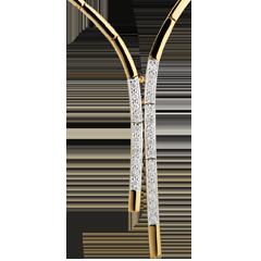 Collar Traje de Etiqueta - oro blanco y oro amarillo 18 quilates