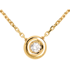 Collier Calice or jaune